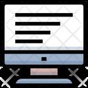 Screen Monitor Computer Icon