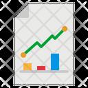 Graph Stats Seo Icon