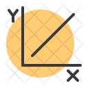 Graph Axis Growth Icon