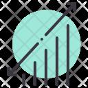 Graph Analysis Statistics Icon