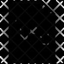 Graph Document File Icon