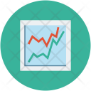 Graph Chart Analyiss Icon