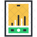 Graph Analytics Diagram Icon
