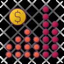 Graph Dollar Money Icon