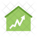 Graph House Icon