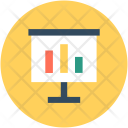 Graph Board Easel Icon