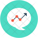 Graph Bubble Growth Icon