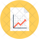 Graph Report Statistical Icon