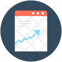 Graph Report Seo Icon