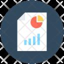 Graph Report Sale Icon