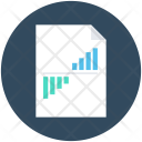 Graph Report Sale Icon
