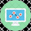 Graph Screen Monitoring Icon