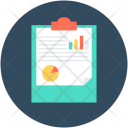 Graph Report Stock Icon