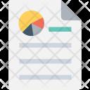 Graph Report Paper Icon