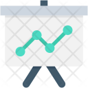 Graph Presentation Growth Icon