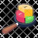 Graph Analysis Infographic Statistics Icon