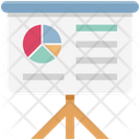 Graph Board Easel Board Easel Graph Icon