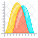 Graph Curve Chart Icon