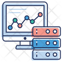 Data Graph Business Graph Graph Database Icon