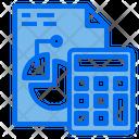 Calulator File Graph Icon