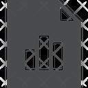 Graph Document Icon