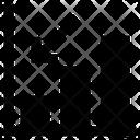 Graph Down Chart Bar Icon