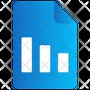 File Graph Document Icon