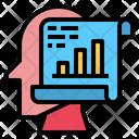 File Graph Data Icon