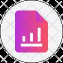 Graph File Document Icon
