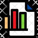 Diagram Graph File Icon
