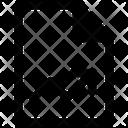 Graph File Graph Paper Icon