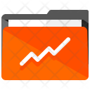 Graph Folder Business Icon