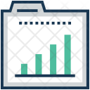 Bar Graph Folder Icon