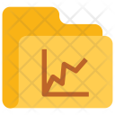Graph Folder Data Icon