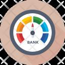 Graph Indicator Speedometer Icon