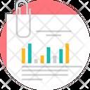 Business Graph Paper Icon