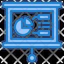 Present Presentation Graph Icon
