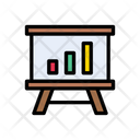 Graph Presentation Icon