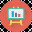 Graph Presentation Bar Icon