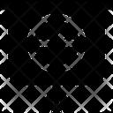 Pie Chart Pie Graph Chalkboard Icon