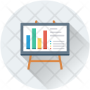 Easel Business Presentation Icon