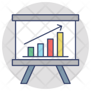 Barchart Analysis Growth Icon