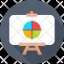 Graph Presentation Icon