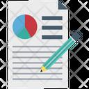 Graph Report Pie Chart Report Edit Icon