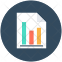 Financial Report Graph Report Business Report Icon