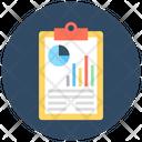 Graph Report Graph Stock Report Icon