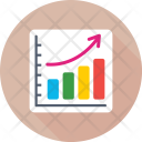 Graph Report Business Icon