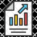 Bar Report Graph Icon