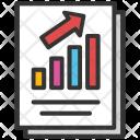 Bar Report Profit Icon