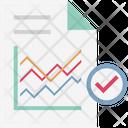 Graph Report Bar Graph Analytics Icon